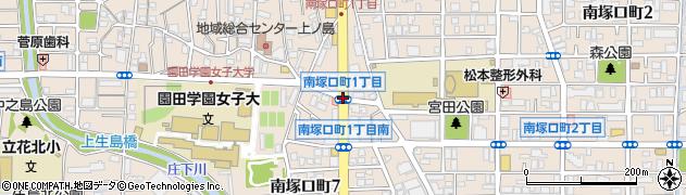 南塚口町1周辺の地図