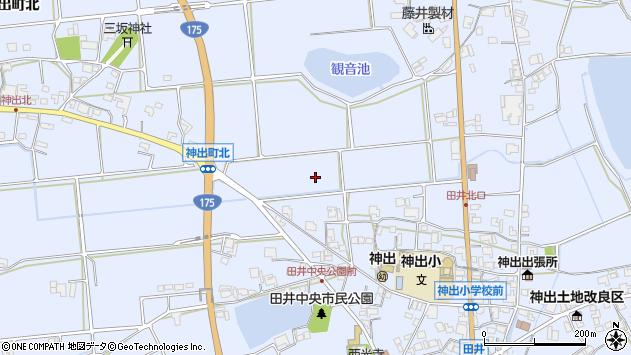 〒651-2313 兵庫県神戸市西区神出町田井の地図