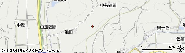 愛知県南知多町(知多郡)内海(口苔廻間)周辺の地図