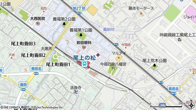 〒675-0026 兵庫県加古川市尾上町旭の地図
