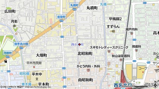 〒662-0833 兵庫県西宮市北昭和町の地図