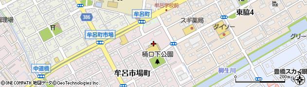うなぎのマル・彦周辺の地図