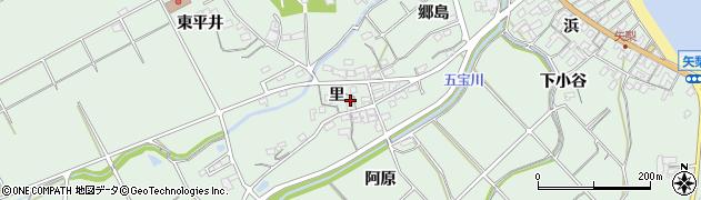愛知県美浜町(知多郡)豊丘(里)周辺の地図