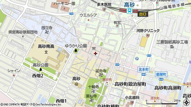 〒676-0061 兵庫県高砂市高砂町農人町の地図