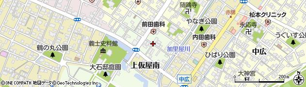兵庫県赤穂市加里屋南周辺の地図
