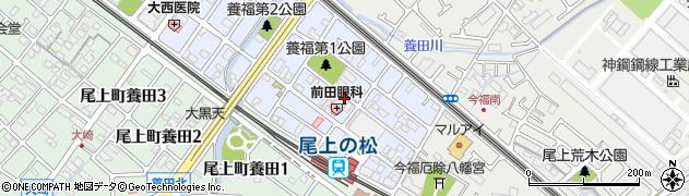 兵庫県加古川市尾上町旭周辺の地図