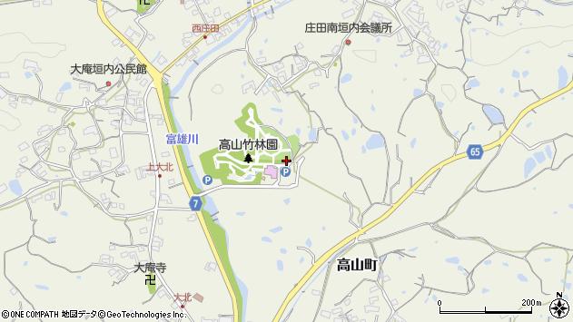 〒630-0101 奈良県生駒市高山町の地図