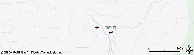 大滝山西法院周辺の地図