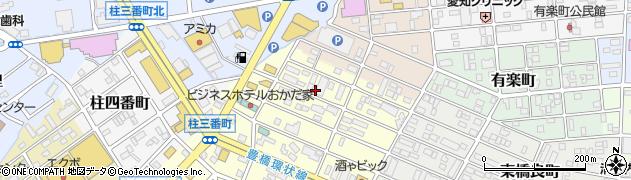 愛知県豊橋市堂坂町周辺の地図