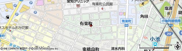 新々周辺の地図
