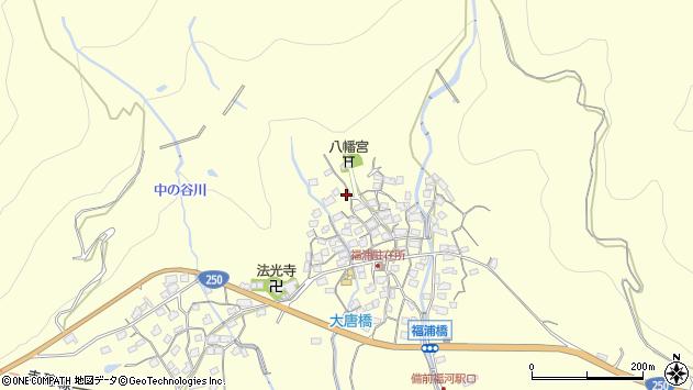 〒678-0257 兵庫県赤穂市福浦の地図