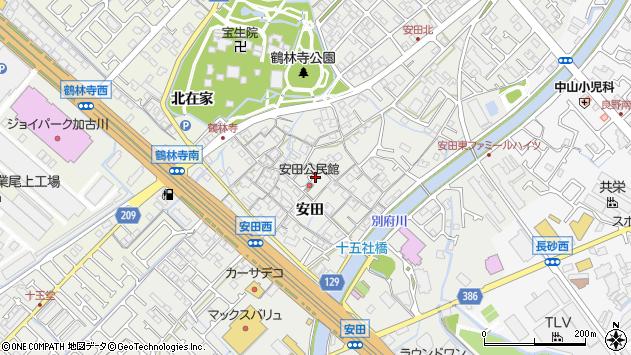 〒675-0021 兵庫県加古川市尾上町安田の地図