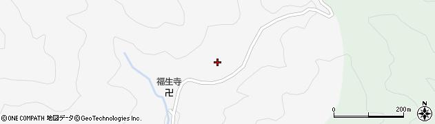 大滝山実相院周辺の地図