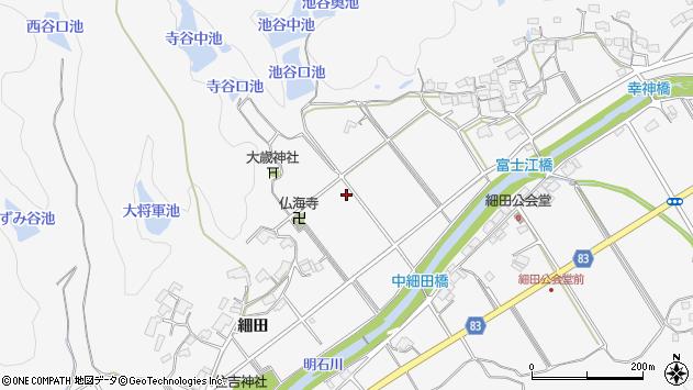 〒651-2207 兵庫県神戸市西区押部谷町細田の地図