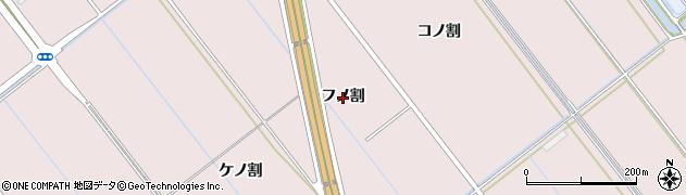 愛知県豊橋市神野新田町(フノ割)周辺の地図