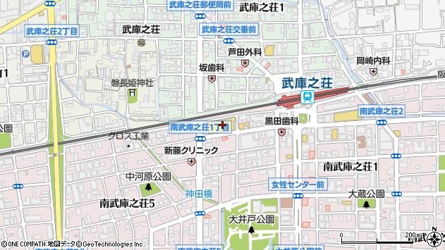 〒661-0033 兵庫県尼崎市南武庫之荘の地図