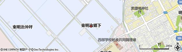 愛知県豊橋市牟呂町(東明治郷下)周辺の地図