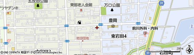 居酒屋あおいTori周辺の地図