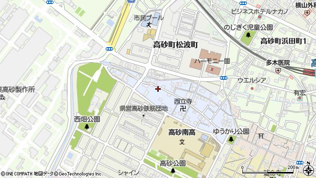 〒676-0024 兵庫県高砂市高砂町木曽町の地図