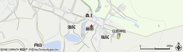 愛知県豊橋市岩崎町(前田)周辺の地図