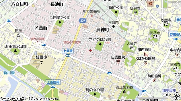 〒678-0237 兵庫県赤穂市上仮屋北の地図
