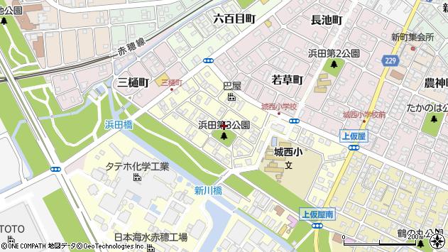 〒678-0244 兵庫県赤穂市城西町の地図