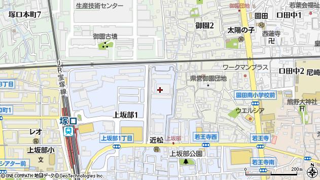 〒661-0979 兵庫県尼崎市上坂部の地図
