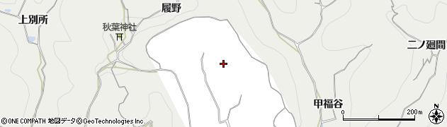 愛知県南知多町(知多郡)内海(履野)周辺の地図
