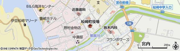 静岡県賀茂郡松崎町周辺の地図