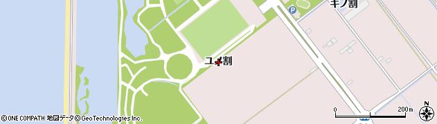 愛知県豊橋市神野新田町(ユノ割)周辺の地図