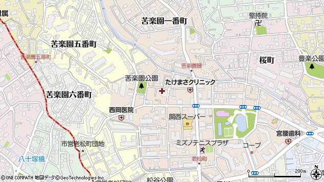 〒662-0084 兵庫県西宮市樋之池町の地図