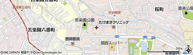 兵庫県西宮市樋之池町周辺の地図