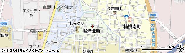大阪府寝屋川市堀溝北町周辺の地図