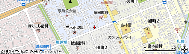 あさ乃周辺の地図
