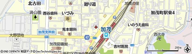 京都府木津川市加茂町里(東鳥口)周辺の地図