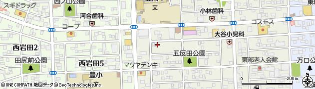 ちょっとだけ周辺の地図