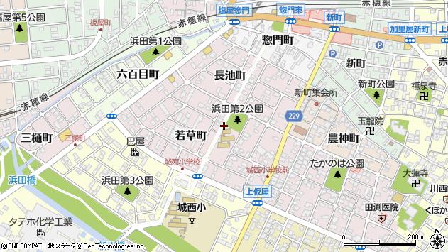 〒678-0243 兵庫県赤穂市若草町の地図