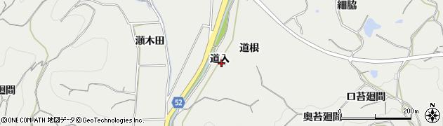 愛知県南知多町(知多郡)内海(道入)周辺の地図