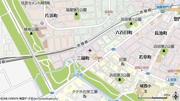 〒678-0245 兵庫県赤穂市三樋町の地図