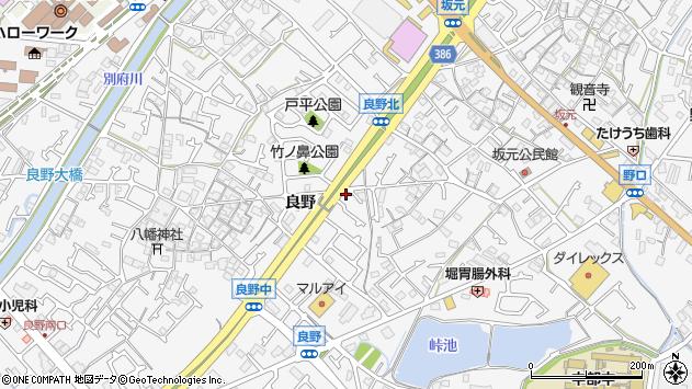 〒675-0017 兵庫県加古川市野口町良野の地図