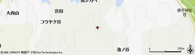 京都府木津川市加茂町法花寺野(奥シガヘ)周辺の地図
