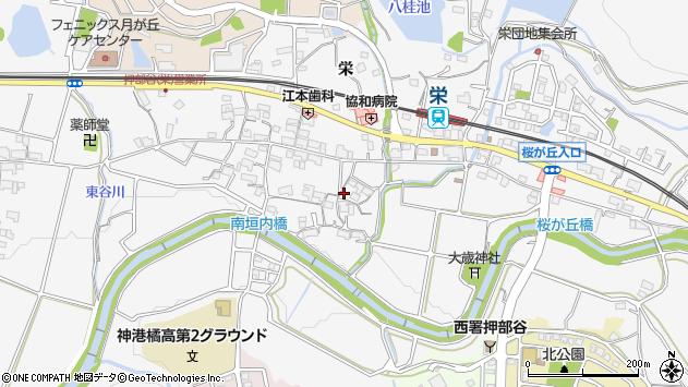 〒651-2211 兵庫県神戸市西区押部谷町栄の地図