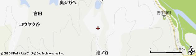 京都府木津川市加茂町河原(池ノ谷)周辺の地図