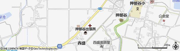 兵庫県神戸市西区押部谷町周辺の地図