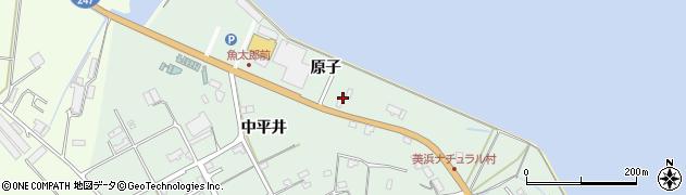 愛知県美浜町(知多郡)豊丘(原子)周辺の地図