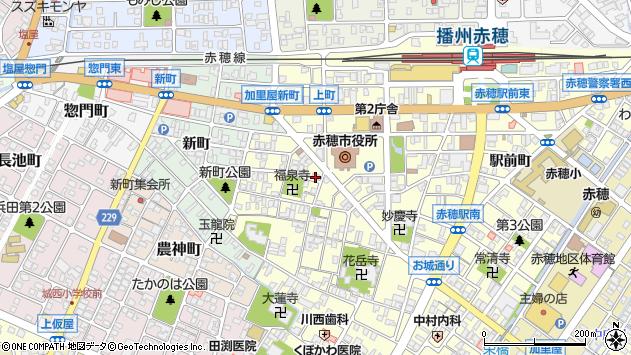 〒678-0239 兵庫県赤穂市加里屋の地図
