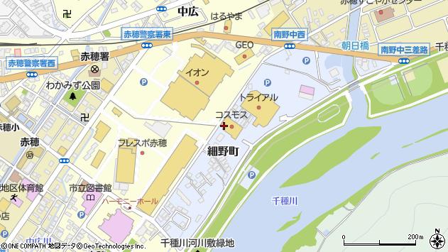 〒678-0231 兵庫県赤穂市細野町の地図