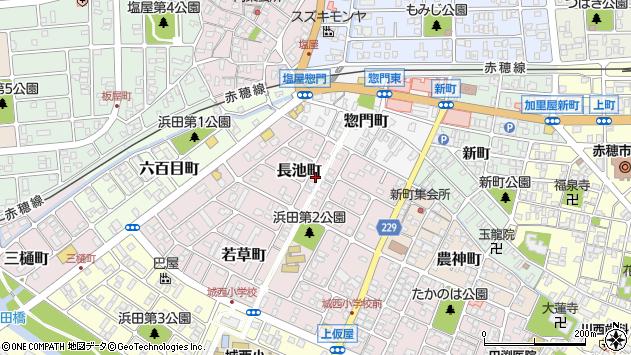 〒678-0242 兵庫県赤穂市長池町の地図