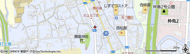 CHEROKICHI周辺の地図