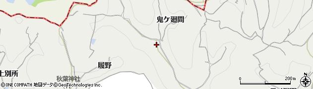 愛知県南知多町(知多郡)内海(鬼ケ廻間)周辺の地図